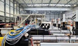 Montaż nowej linii produkcyjnej w Zakładzie Produkcji Folii Efekt Plus