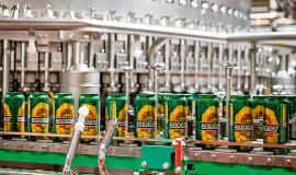 KHS can filler processes a broad spectrum of beverages and formats