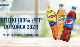 Butelki Pepsi wykonane będą w 100% z rPET do końca 2021 roku