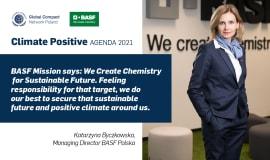 BASF Polska w inauguracyjnej debacie Climate Positive - Agenda 2021
