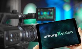 2021 geht Arburg live auf Sendung