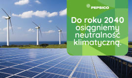 PepsiCo neutralne klimatycznie do roku 2040