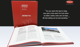 Moretto's 40 years anniversary book