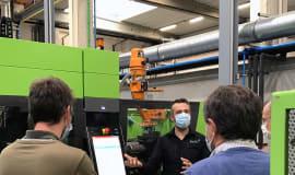 Ausbildungszentrum PlastIQ in Belgien nimmt Engel Spritzgießmaschinen in Betrieb