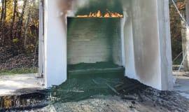Pasy z wełny mineralnej nie wpływają na bezpieczeństwo pożarowe ociepleń
