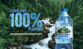 Żywiec Zdrój z nową kampanią celebrującą zbiórkę 100% plastiku