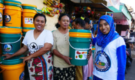 Project STOP shows positive impact in circular waste management in Indonesia