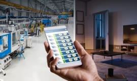 socialProduction from KraussMaffei - proactive production monitoring anytime and anywhere