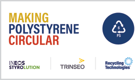 Ineos Styrolution, Recycling Technologies and Trinseo progress plans for the first polystyrene recycling plant in Europe