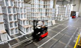 BSH wykorzystuje opakowania z materiału Styropor firmy BASF