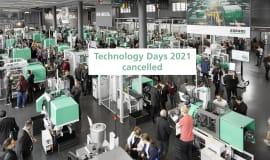 Arburg sagt Technologie-Tage 2021 ab