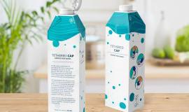 SIG объявила о выпуске прикреплённых крышек для картонных упаковок