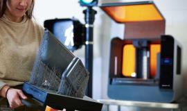 Szkolenie online: Jak wykorzystać duże pole robocze drukarki 3D SLA?