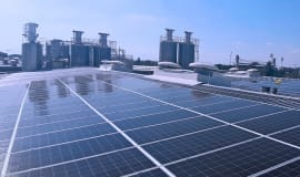 New photovoltaic rooftop array to provide power to Borealis location in Monza