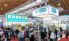 """BOY-Exponate """"live und zum Anfassen"""" auf der Fakuma 2021"""