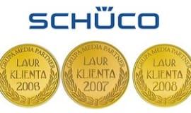 Oknovid produkuje okna PVC z profili firmy Schüco