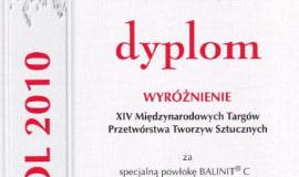 Wyróżnienie targów Plastpol dla firmy Oerlikon Blazers