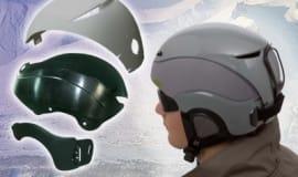 Nowe kaski do sportów zimowych wykonane z Zytel®
