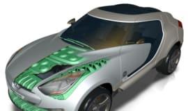 Hyundai QarmaQ wykorzystuje materiały GE Plastics