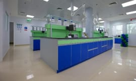 New high-tech lab in the Middle East