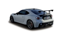 Toyota's sport car with plasma-coated polycarbonate rear quarter window
