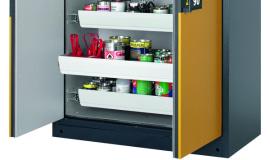 Bezpieczne przechowywanie materiałów niebezpiecznych w pomieszczeniach
