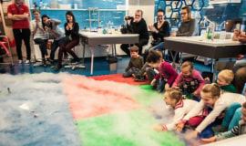 Piąte urodziny laboratorium chemicznego w Centrum Nauki Kopernik