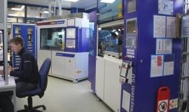 Teflon micro parts manufactured on Wittmann Battenfeld's micro machines