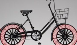 Bridgestone develops airless bicycle tires