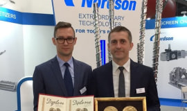 Nordson receives Innovation Award for wear coating technology for plasticating screws