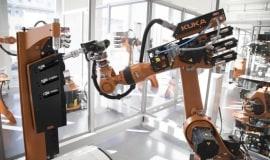 KUKA produkuje części do robotów na drukarkach 3D MakerBot Z18