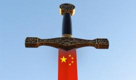 Gegen wen richtet sich das chinesische Schwert?
