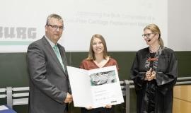Spitzenabsolventen der Technischen Universität München erhalten Arburg-Preise