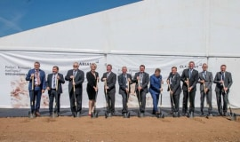 Groundbreaking for Clariant's sunliquid cellulosic ethanol plant in Romania