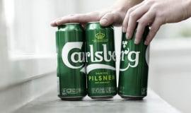 Carlsberg fördert Nachhaltigkeit mit der neuen Verpackung Snap Pack