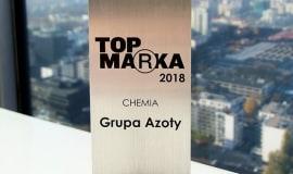 Grupa Azoty najsilniejszą marką medialną w sektorze chemicznym