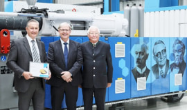 KraussMaffei anniversary machine for Wirthwein