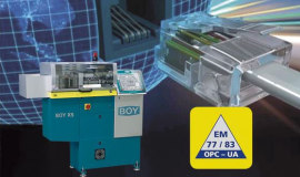 BOY injection moulding machine provides online data around the clock