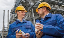 BASF for the first time makes products with chemically recycled plastics