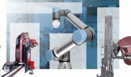 Roboty Universal Robots na targach Warsaw Pack