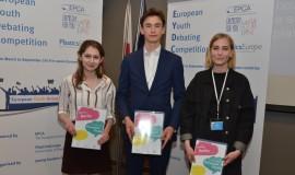 Znamy zwycięzców czwartej debaty European Youth Debating Competition