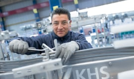 Customers in Mexico benefit from KHS services