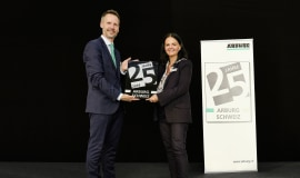 25 years of Arburg in Switzerland
