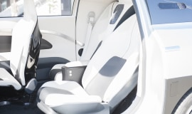 Plastics and foams contribute to the future in-car living space