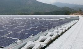 BASF light stabilizers increase lifespan of floating solar panel systems