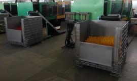 Logistyka magazynowania i produkcji butelek z tworzyw sztucznych
