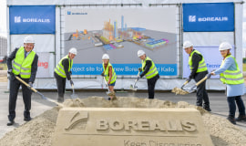 Borealis holds ceremony for its new world-scale plant in Kallo