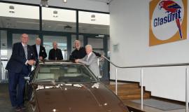 Glasurit wyznaczył historyczne kolory pojazdu Bitter Coupe