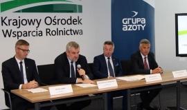 Współpraca Grupy Azoty S.A. z KOWR na rzecz polskiego rolnictwa