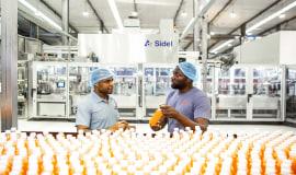 Rozwiązania firmy Sidel sprawdzają się w Afryce